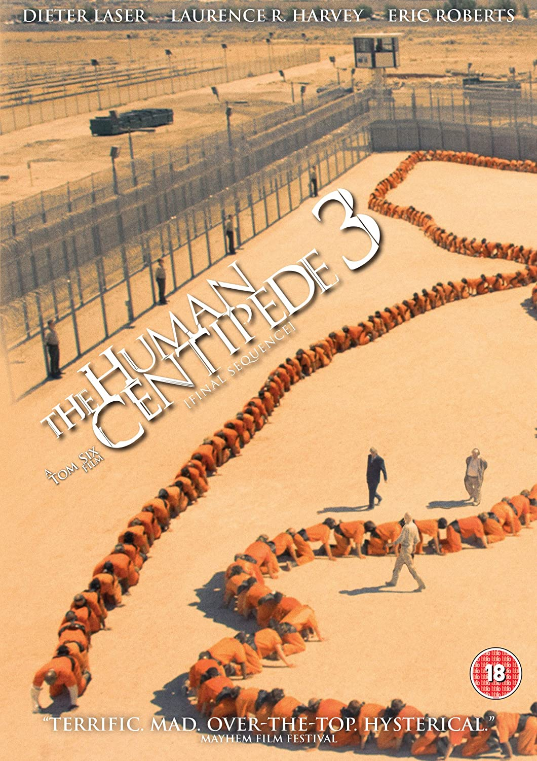 Human Centipede 3 comes to DVD and blu ray