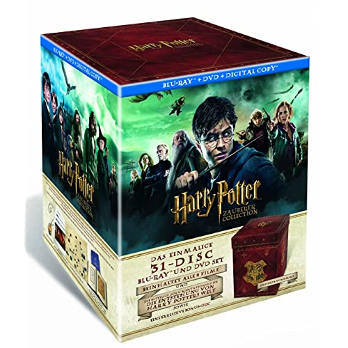 Harry Potter Zauberer Collection DVD & Bluray