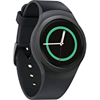 Samsung Gear S2 Bluetooth/Wifi Smartwatch with Heart Rate Monitor (Dark Gray) + BlackHat 2600mAh Portable Power Bank