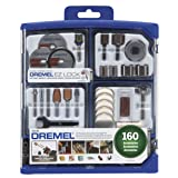 Dremel 710-08 All-Purpose Rotary Accessory Kit, 160-Piece (Color: 1)