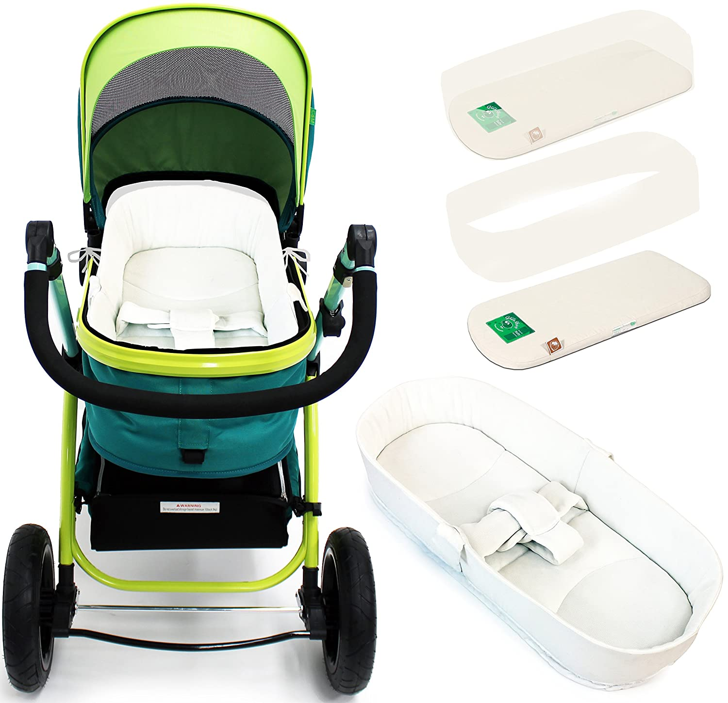 iSafe Luxury Beddin For Pram Travel System