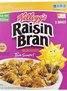 Kellogg's Raisin Bran Crunch Cereal, 24.8 Oz