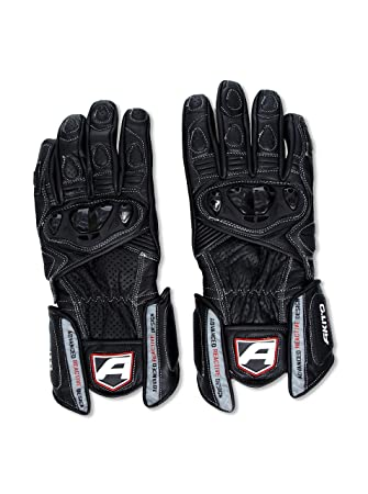 Akito Sports carrées Rider Gants Noir Taille XS