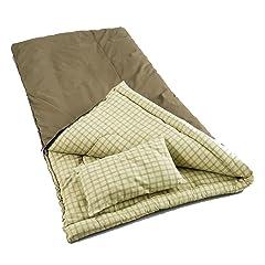 Coleman Big Game Sleeping Bag with Pillow