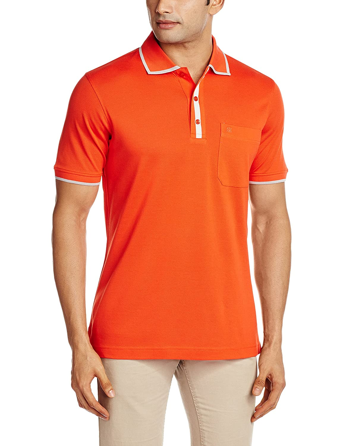 Flat 60% off Raymond Men's Clothing By Amazon | Raymond Men's Cotton T-Shirt @ Rs.639