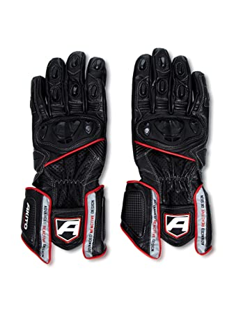 Akito Sports Rider Gants Taille XL 11 cm (Rouge)