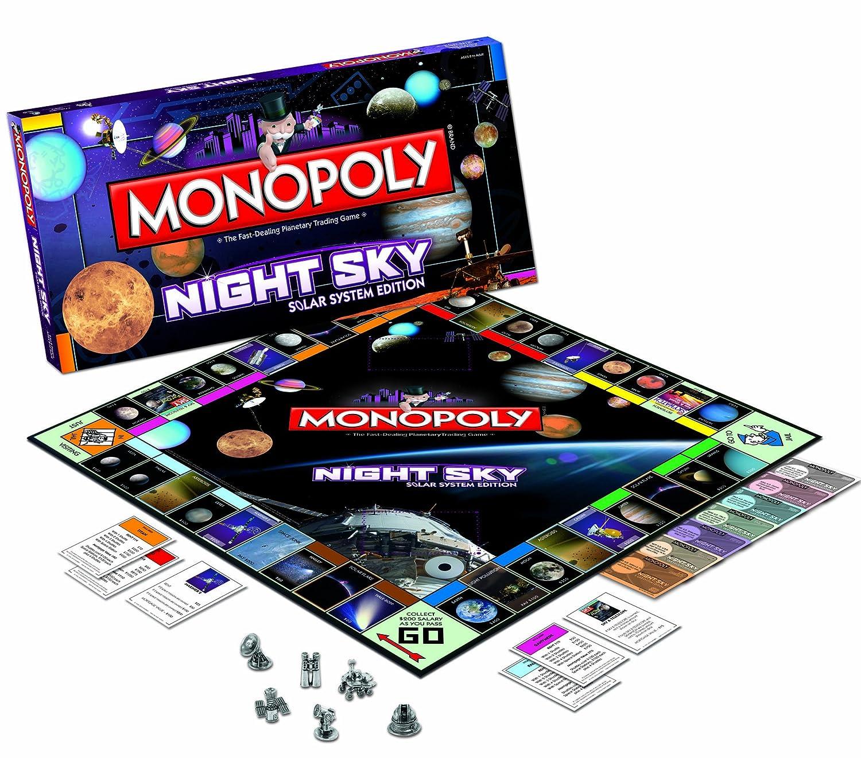 USAopoly Night Sky Monopoly