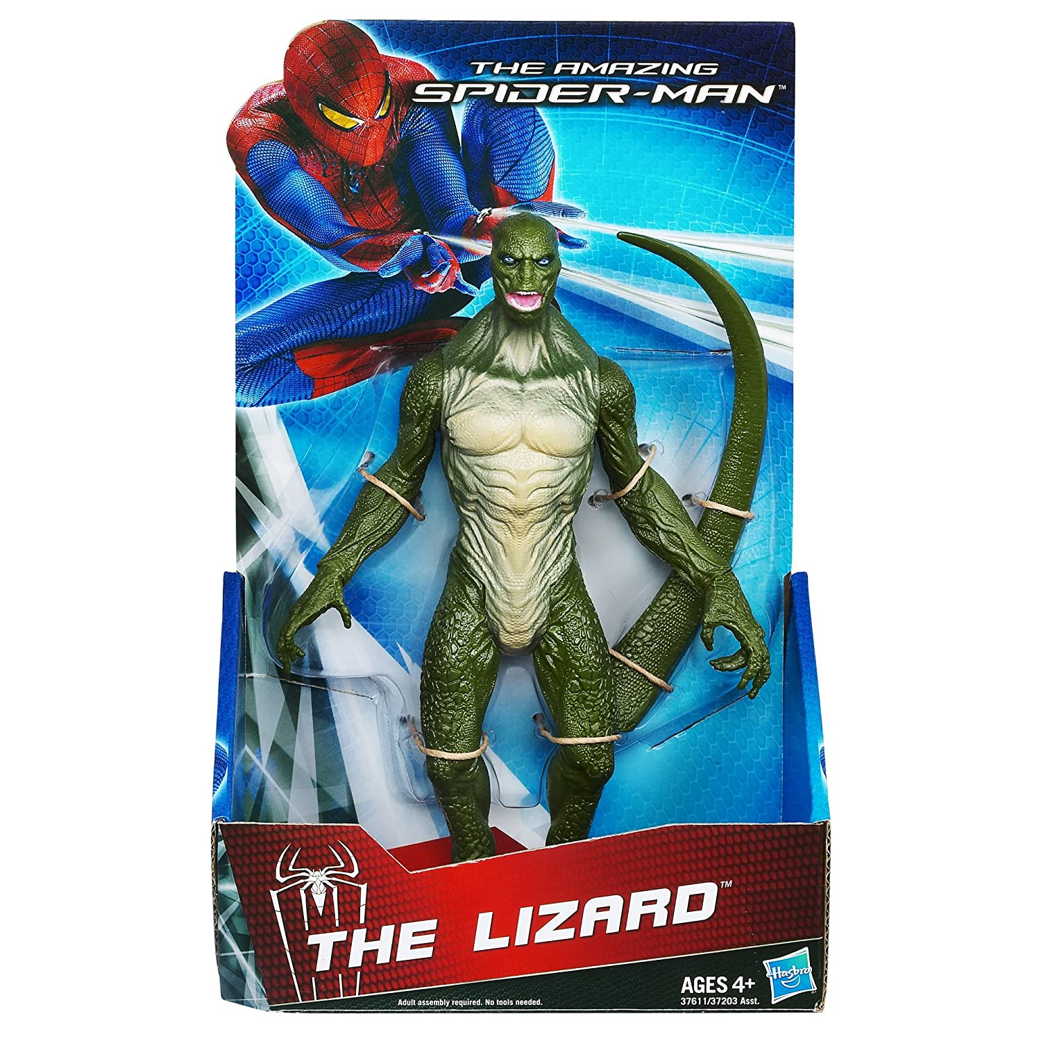 ultimate spider man lizard toy