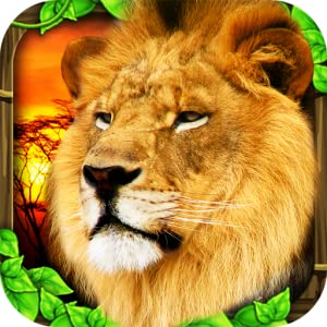 Safari Simulator: Lion from Gluten Free Games