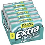 Extra Polar Ice Sugarfree Gum, 35 Piece Pack (6 packs)