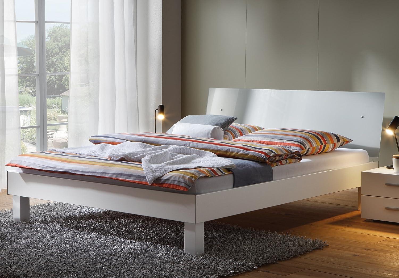 Stilbetten Bett Metallbetten Designerbett Liane Weiß 140×200 cm günstig online kaufen