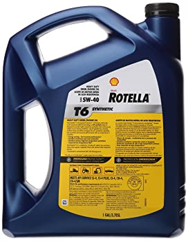 Shell Rotella T6 5w 40 Full Synthetic Oil Review