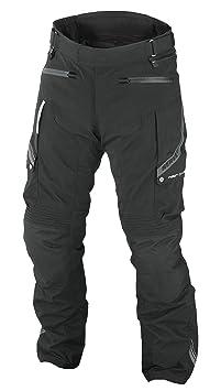 NERVE 1510020504_02 West Coast Pantalon de Moto Touring Femme, Noir, Taille : 36