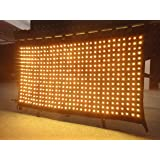 FLYKO flame retardant dj stage video light curtain for sale
