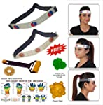 Super India Store Head Belt & Head Roll for Headache Migraine Dizziness Safe & Natural Effective FREE Acupressure Health Products
