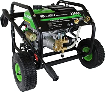 Lifan LFQ3370E 3300 PSI 2.5 GPM Electric Pressure Washer
