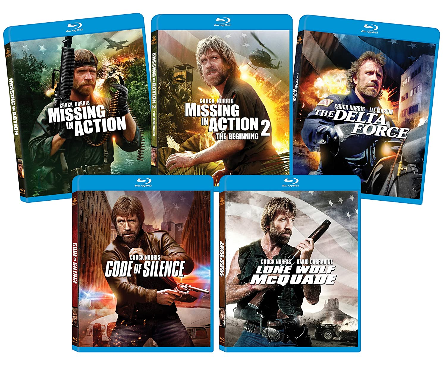 The Ultimate Chuck Norris Blu-ray Bundle (64% off)
