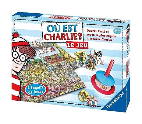 Ravensburger - 26569 - Jeu de Société - Où est Charlie ?