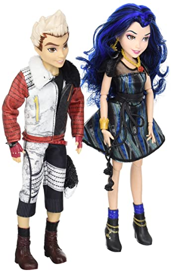 Disney Descendants Two-pack Evie Isle of the Lost et Carlos Isle of the Lost Poupées