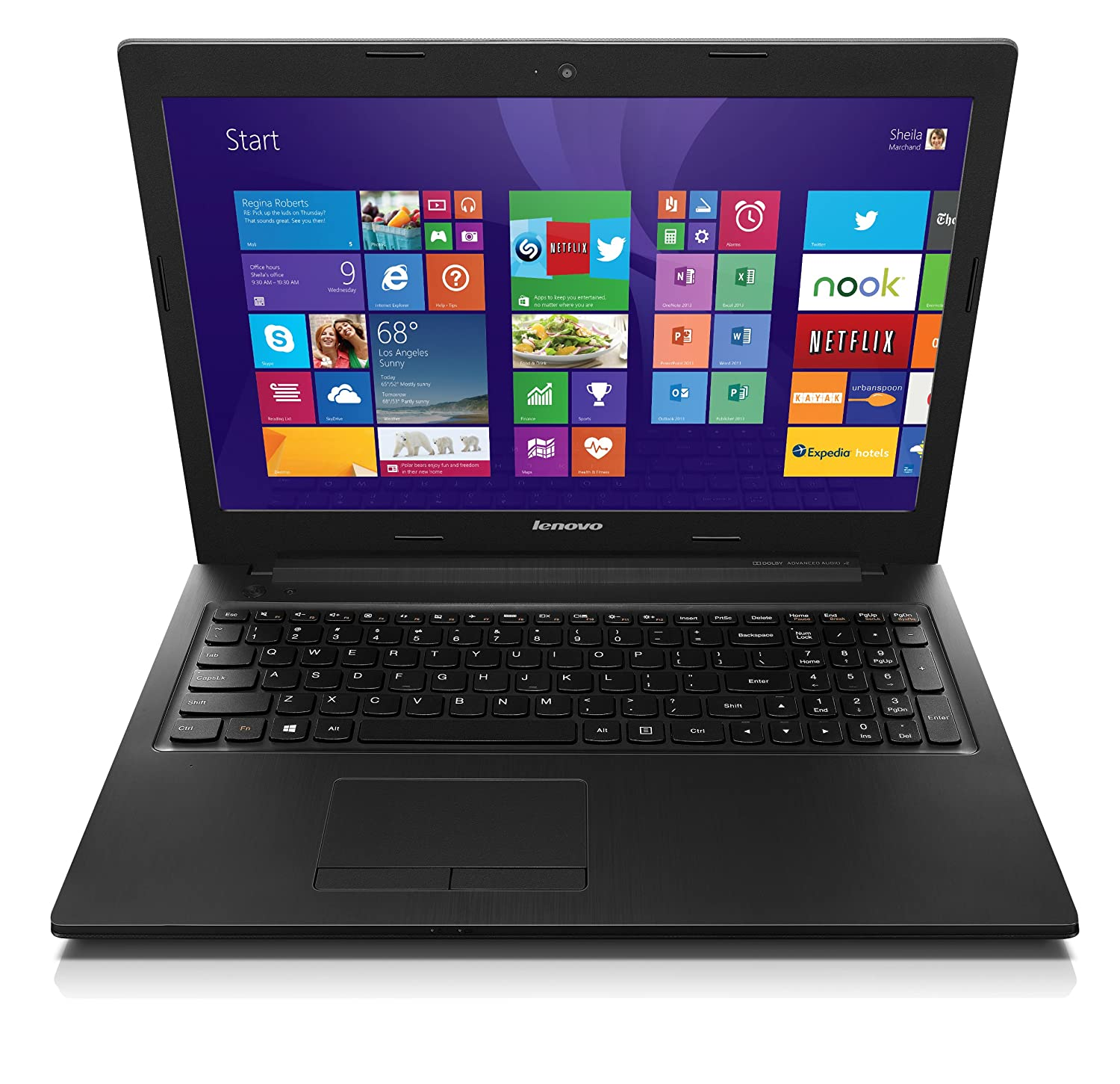 Lenovo 59410273 IdeaPad G710 17.3-Inch Laptop Black