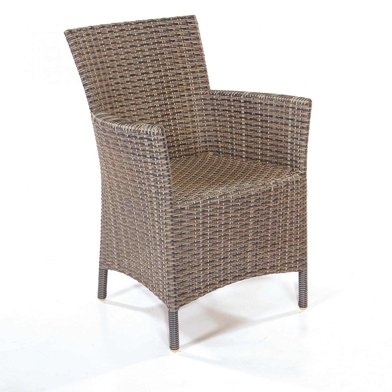 Sessel Barbados Kunststoff graphit-schwarz, H 87, B 57, T 56, SH 44 günstig kaufen