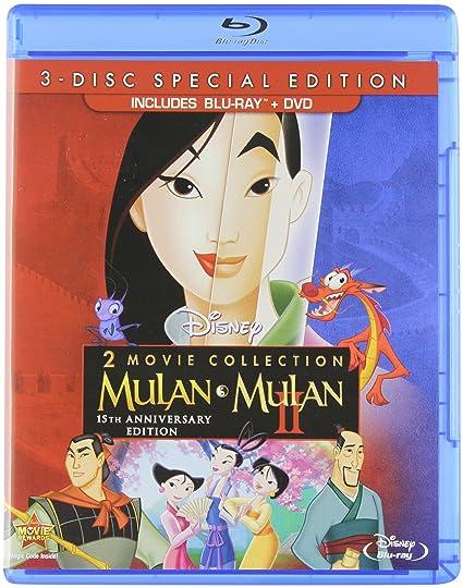 Mulan Limited Issue Dvd Mulan  Mulan II  3-Disc