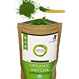 Matcha Green Tea Powder - Superior Culinary - USDA Organic From Japan -Natural Energy & Focus Booster Packed With Antioxidants. Matcha Tea For Mixing In Lattes, Smoothies & Baking. By eco heed 3.5oz (Color: Green, Tamaño: Value Bag 100g (3.5oz))