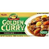 S&B Golden Curry Sauce Mix, Medium Hot, 7.8 Ounce