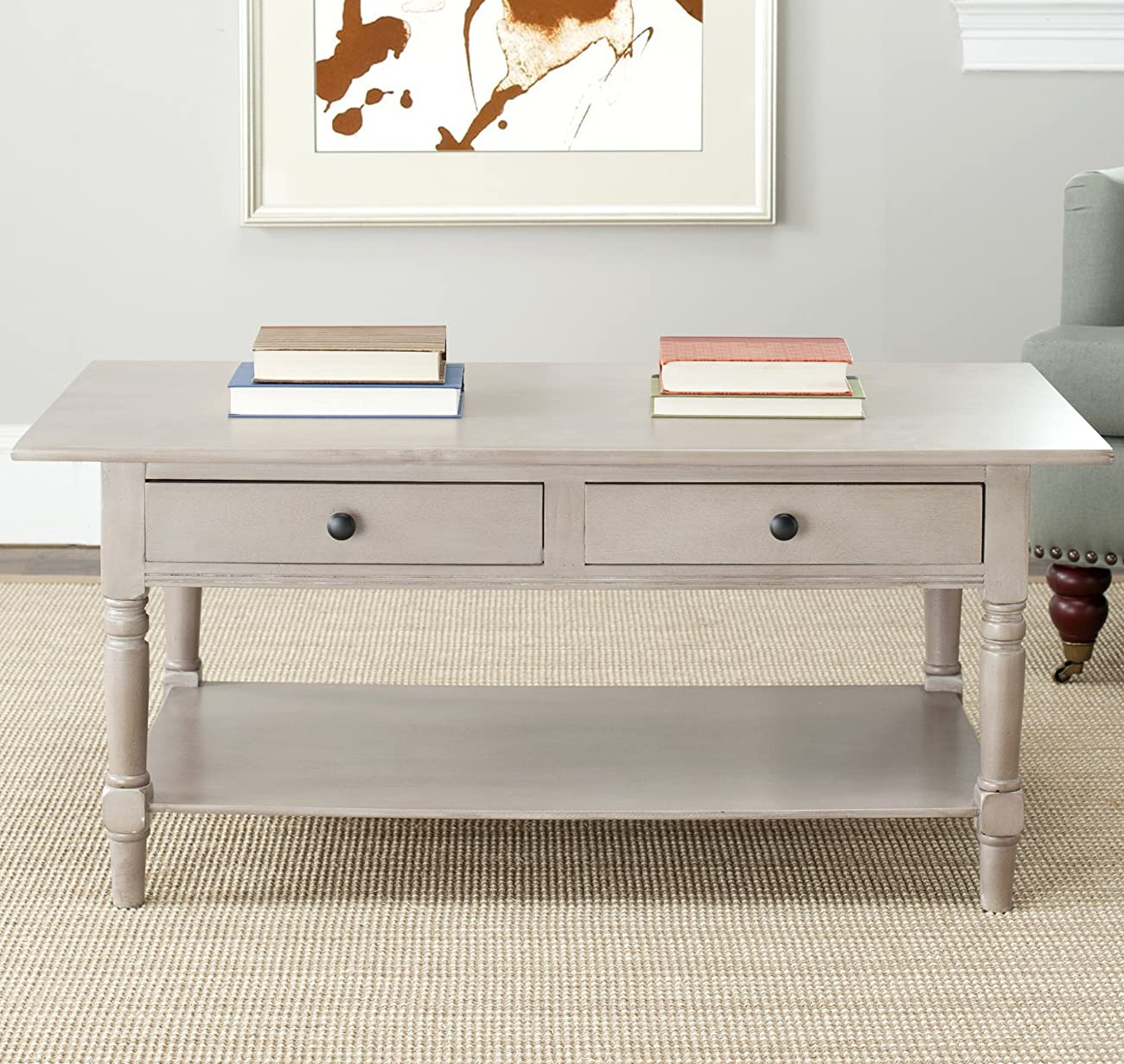 Safavieh American Home Collection Dover Coffee Table, Vintage Grey 3