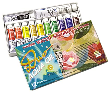 Holbein Duo Aqua Color Chart Holbein Duo Aqua Water-soluble