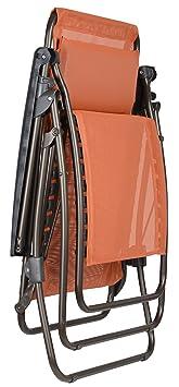 lafuma lfm4007 7226 r clip clip fauteuil relax acier potiron 87 x 68 68 x 114 cm jardin z36. Black Bedroom Furniture Sets. Home Design Ideas
