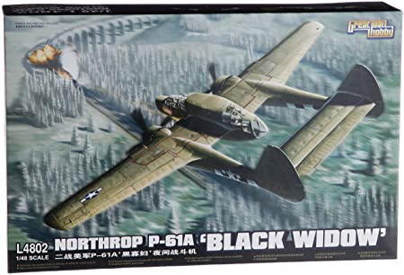 Northrop P-61A Black Widow (Plastic model)