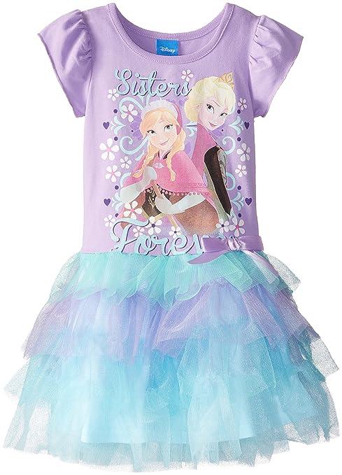 Disney-Little-Girls-Frozen-Sisters-Forever-Tutu-Dress