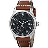 Victorinox Men's 241575 AirBoss Analog Display Swiss Automatic Brown Watch (Color: Brown)