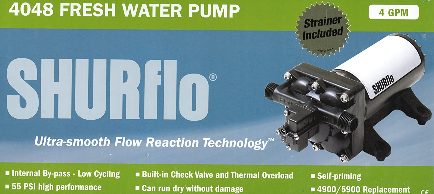 RVTravelMats SHURflo High Flow By-Pass Reaction Technology Series Pump (Designed to Replace Both 4900 and 5900 Smart Sensor Pumps) at Sears.com