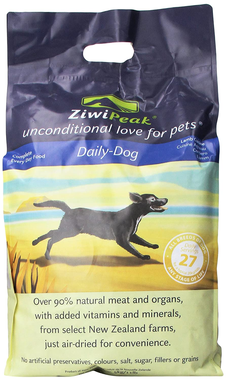 ZiwiPeak Daily Cuisine Grain-Free Air-Dried Dog Food