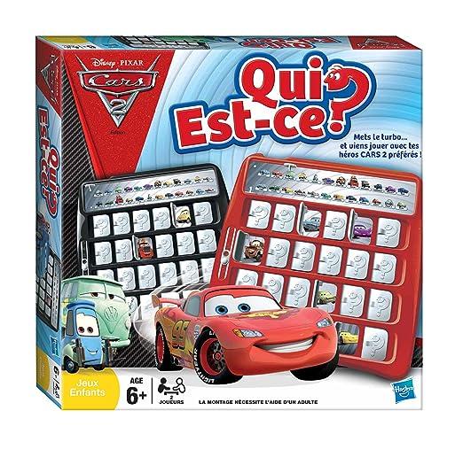 Hasbro - 289721010 - Jeu de Société - Qui Est-Ce ? - Cars 2
