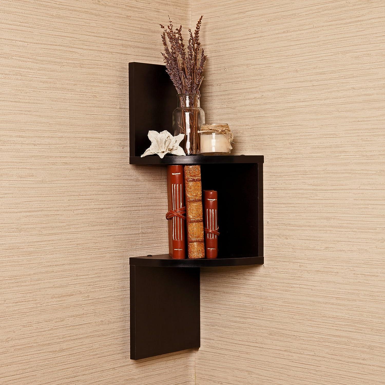 decorative bookshelf case for home corner ladder tree invisible
