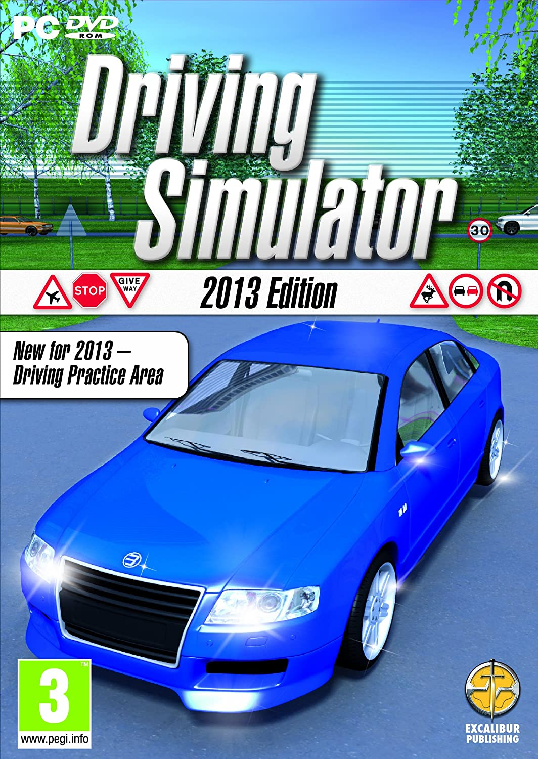 Driving Simulator 2013 Edition cover
