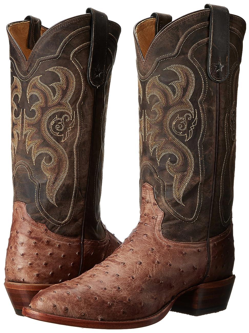 Tony Lama Boots Men's Vintage Ostrich 8965 Western Boot 6