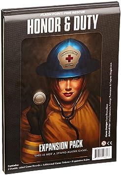 Point d'éclair - Honneur et le devoir - Jeu de société - Point d'incendie et de sauvetage
