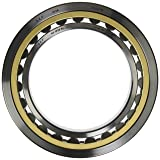 SKF NU 1022 ML Cylindrical Roller Bearing, Single Row, Removable Inner Ring, Straight Bore, Standard Capacity, Normal Clearance, Brass Cage, Metric, 110mm Bore, 170mm OD, 28mm Width