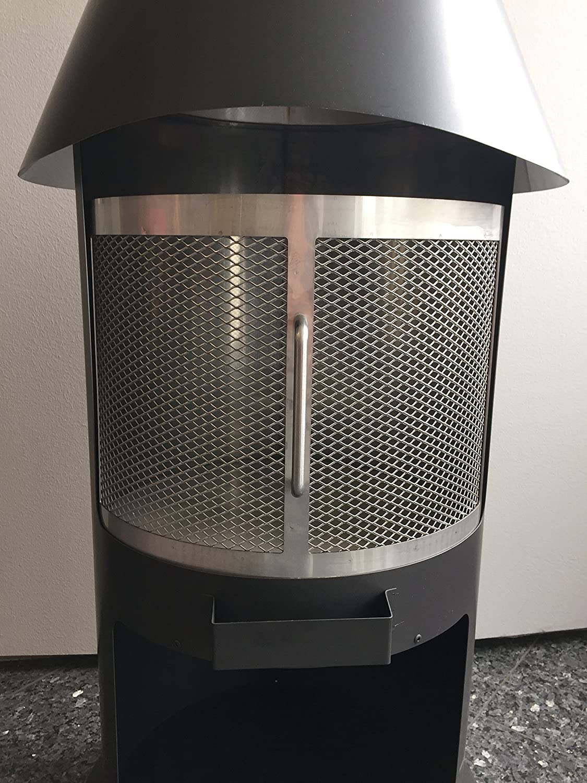 Firestar Funkenschutztür 1-tlg. Edelstahl für Terrassenofen günstig kaufen