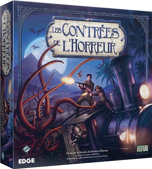 Asmodée - FFEH01 - Jeux de rôle - Les Contrées de l'Horreur