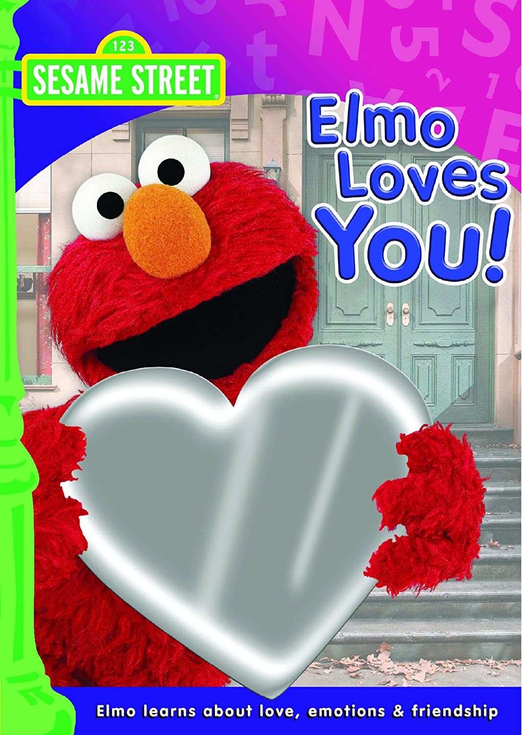 http://www.amazon.com/Elmo-Loves-You-Kevin-Clash/dp/B001H5X6Q2