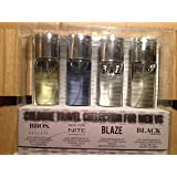 Men's 4 Piece Travel Collection: Black Extreme, Bros., Blaze, and New York Nite