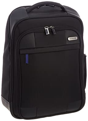 【クリックで詳細表示】[アメリカンツーリスター] AmericanTourister Merit / メリット バックパック (ビジネスバッグ・バックパック・軽量・リュックサック・PC収納・保証付) 85T*91005 91 (ブラック): シューズ&バッグ:通販