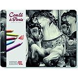 Conté à Paris Pastel Pencils with 48 Assorted Colors (Color: Assorted.)