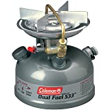 Coleman Camping Stove | Sportster II Dual Fuel Backpacking Stove, 1-Burner, Green (Color: Coleman Green, Tamaño: 7.38