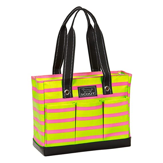Multi-Pocket Zip-Top Tote